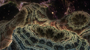 Living Planet Benesi - Mandelbulb 3D fractal by schizo604