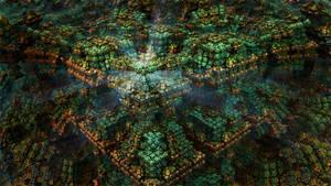 Inside the Box - Mandelbulb 3D fractal by schizo604