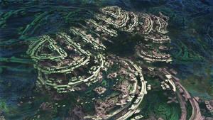 Amazing Power Menger 2 - Mandelbulb 3D fractal by schizo604