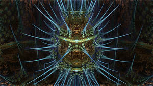 ABoxPlatinumBulb fram 870 - Mandelbulb 3D fractal by schizo604