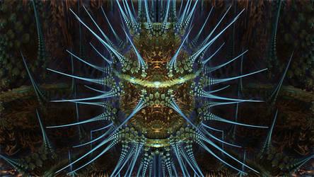 ABoxPlatinumBulb fram 870 - Mandelbulb 3D fractal