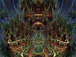 ABoxPlatinumBulb fram 1139 - Mandelbulb 3D fractal