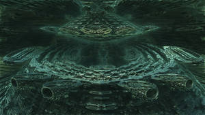 Fractal Omega Racer 3218 - Mandelbulb 3D fractal by schizo604