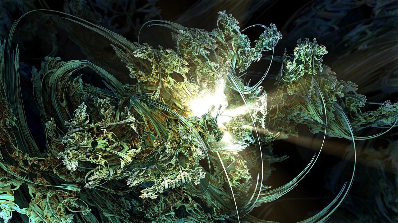 BenesiLight - Mandelbulb 3D fractal by schizo604