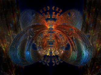 Crazy Hornet - Mandelbulb 3D fractal by schizo604
