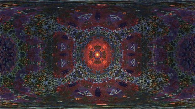 360 degree Caleidoscope Eye-Mandelbulb 3D fractal