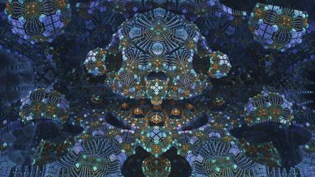 Fractal Matrix 246 - Mandelbulb 3D fractal by schizo604