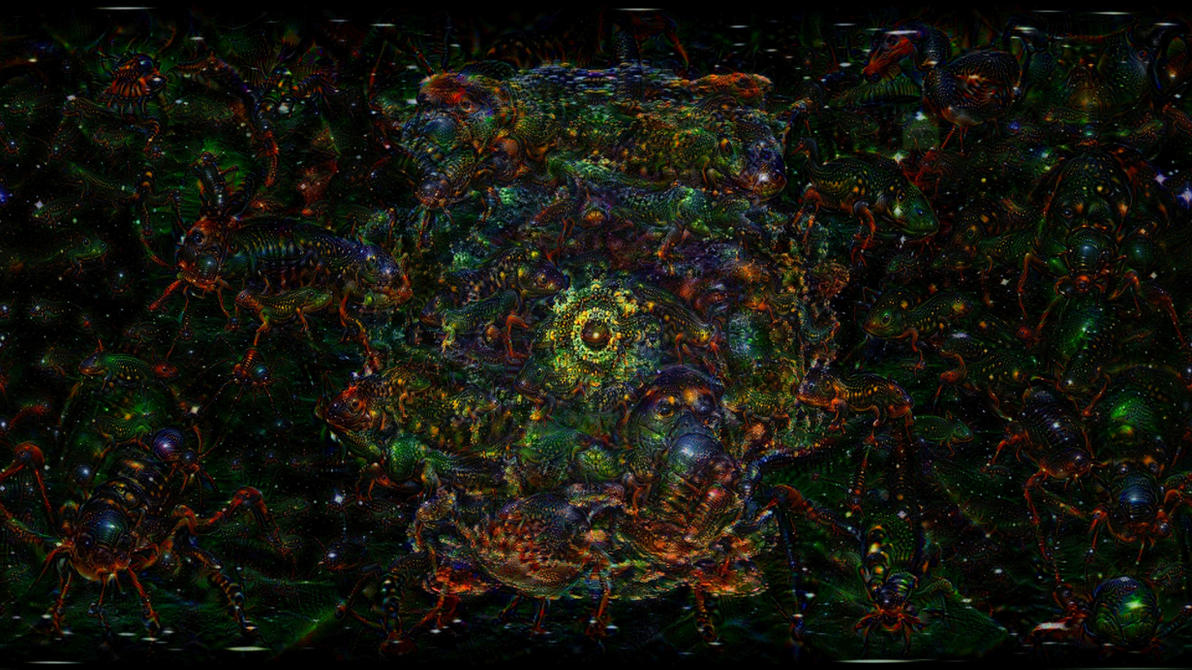 ACID EYE 360 VR - Psychedelic Deep Dream Fractal 1 by schizo604