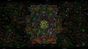 ACID EYE 360 VR - Psychedelic Deep Dream Fractal 1
