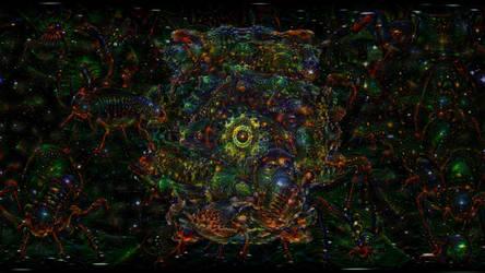 ACID EYE 360 VR - Psychedelic Deep Dream Fractal 1