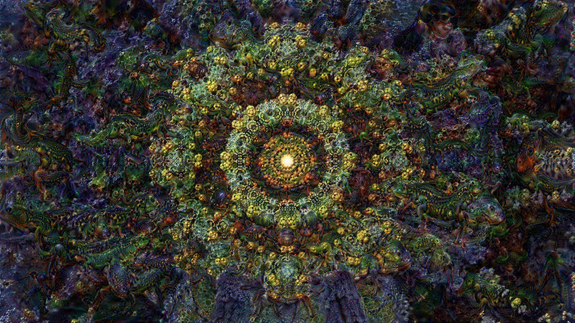 ACID EYE 360 VR - Psychedelic Deep Dream Fractal 3 by schizo604