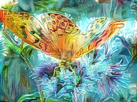 Trippy Butterfly