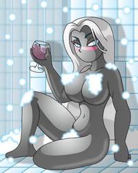 Summer Bath - Tyrahnee by XJKenny