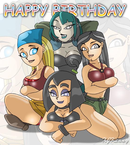 birthday foursome
