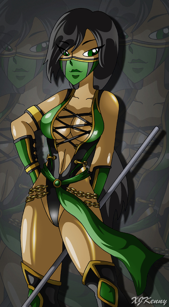 Mortal Kombat 9 - Jade by XJKenny