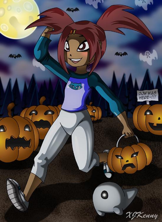 Sari Halloween by XJKenny