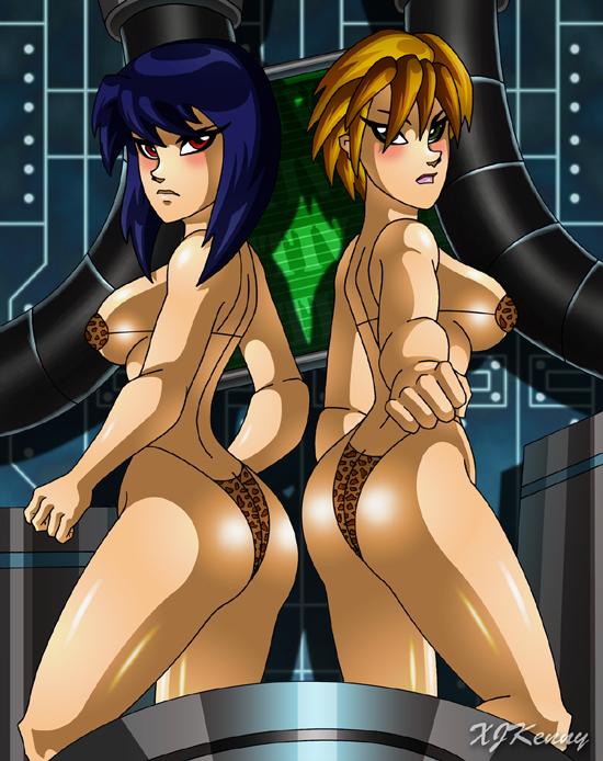 Tech Babe Cavegirls by XJKenny