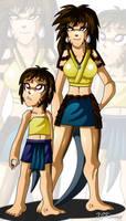 Kid and Adult Nara