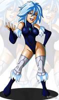Killer Frost Arkham by XJKenny
