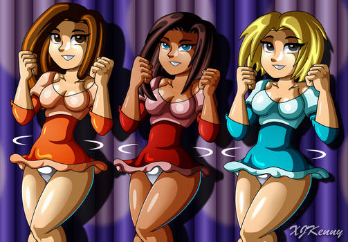 Twirling Trio