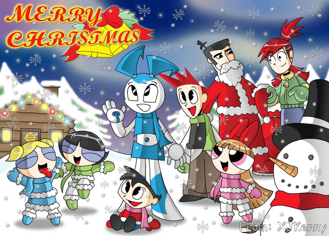 MLAATR, PPG etc Christmas by XJKenny