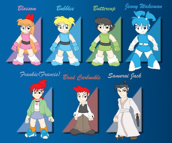 Dreamstar Heroes by XJKenny