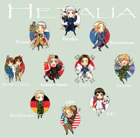 Hetalia by Tamasaburo09