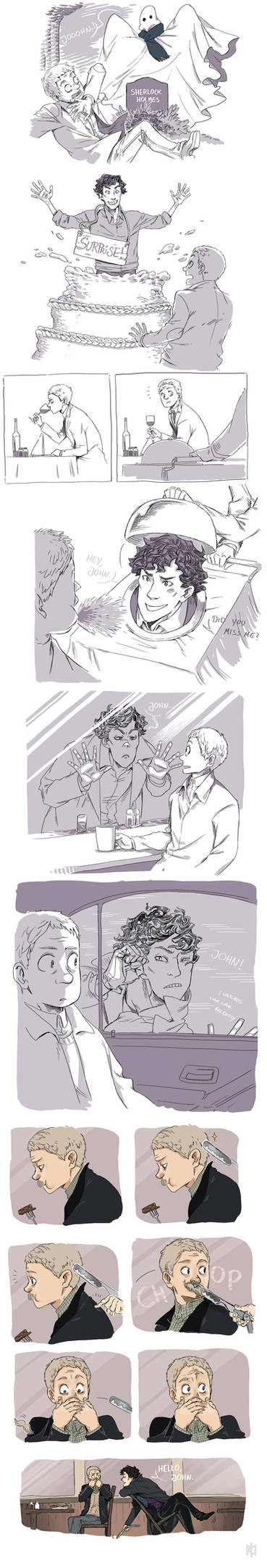 Sherlock's Return by Tamasaburo09