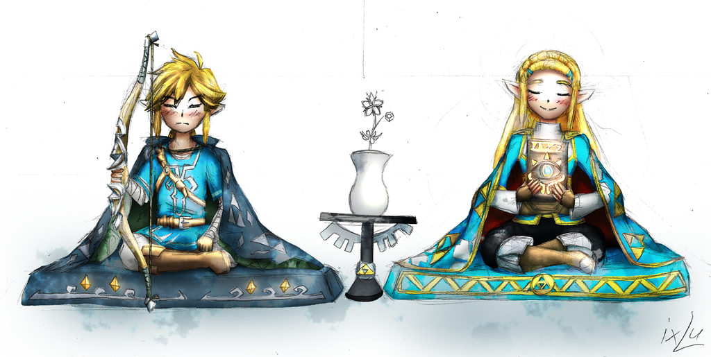 Zelda Breath Of The Wild Hinamatsuri 2017 By Guardian IxLu