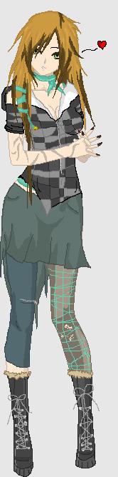 Maro Keliramyka OC WIP 'Modern Day' Outfit by rain1989