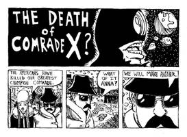 Death of Comrade X - pg 1 of 4
