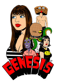 GENESIS - Front Cover