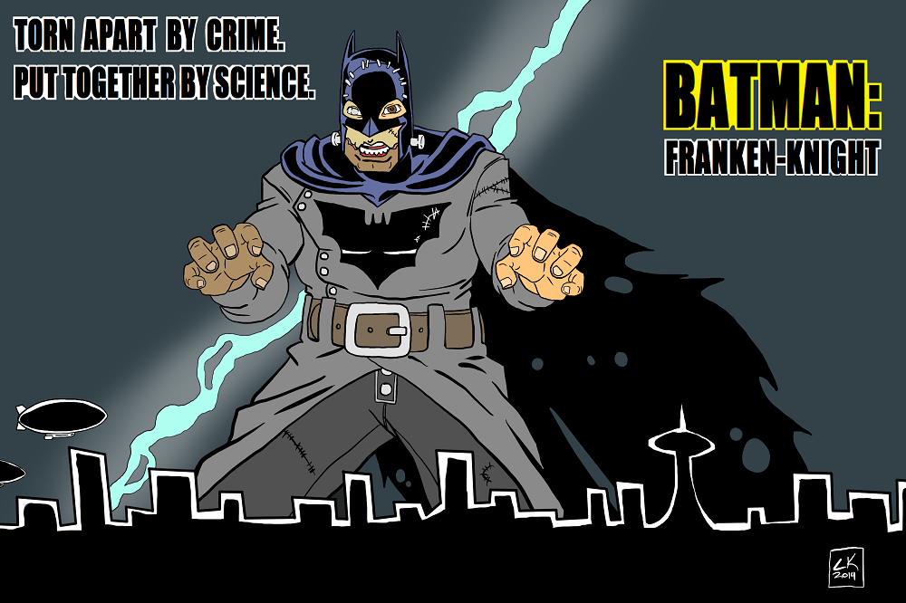 Batman - Franken-Knight by EarthmanPrime