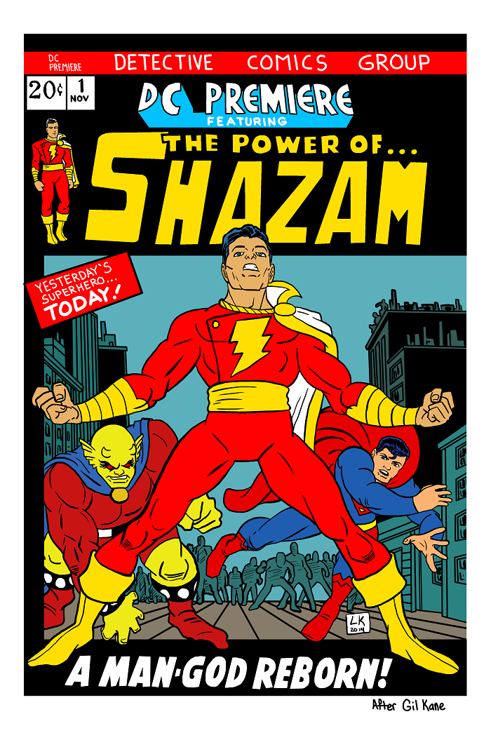 The Power of Shazam by EarthmanPrime