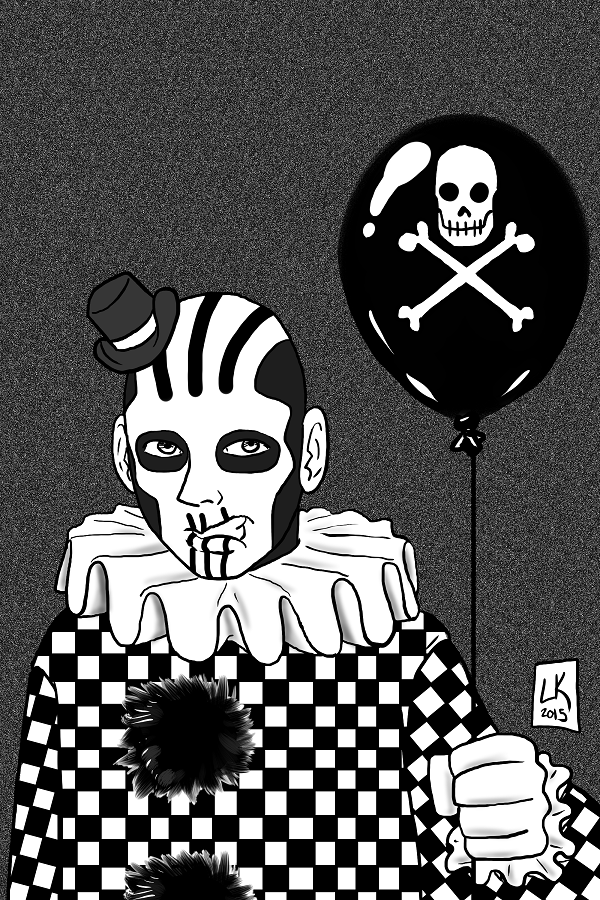 Gladio the Clown by EarthmanPrime