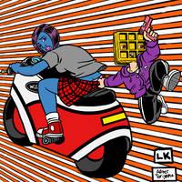 Easy Rider by LarryKingUndead