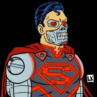 The Cyborg by LarryKingUndead