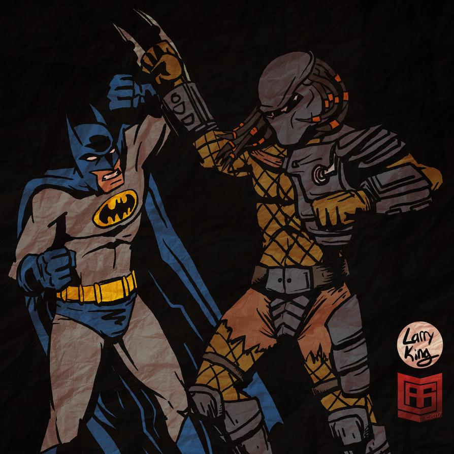 Detective vs Hunter by LarryKingUndead