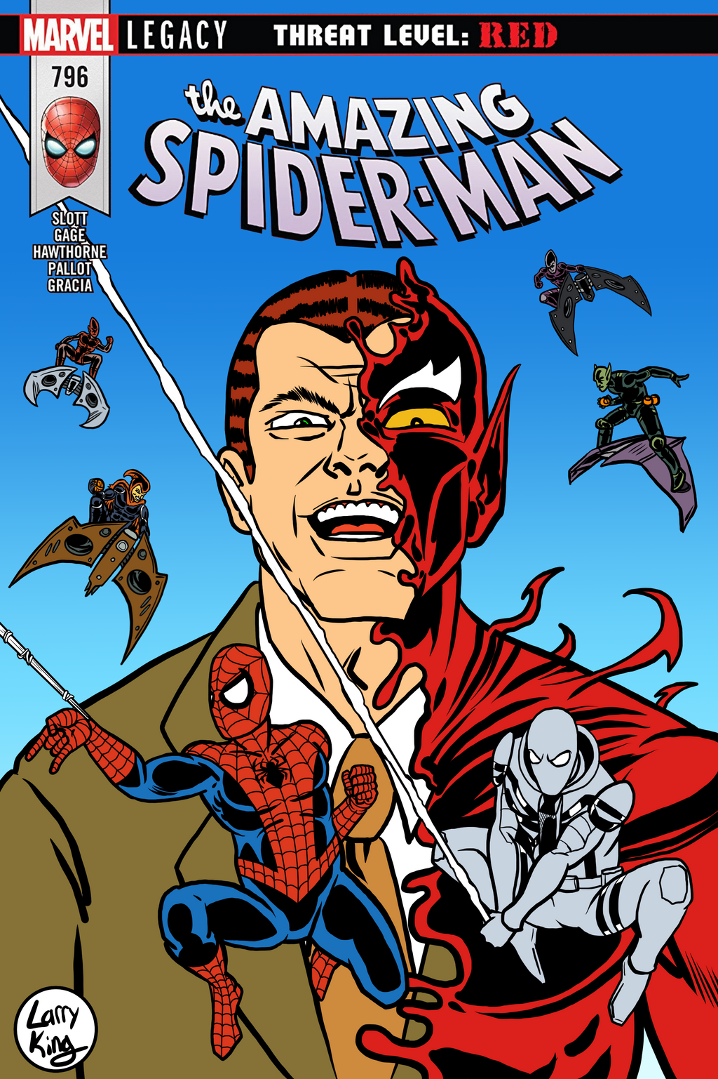 ASM 796 - Variant Cover by LarryKingUndead