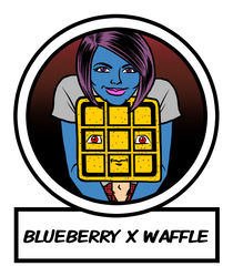 Feature Icon - Blueberry x Waffle by LarryKingUndead