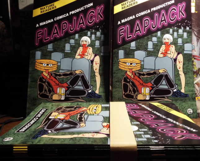 On Sale Now! FLAPJACK: GRAVE CONCERNS