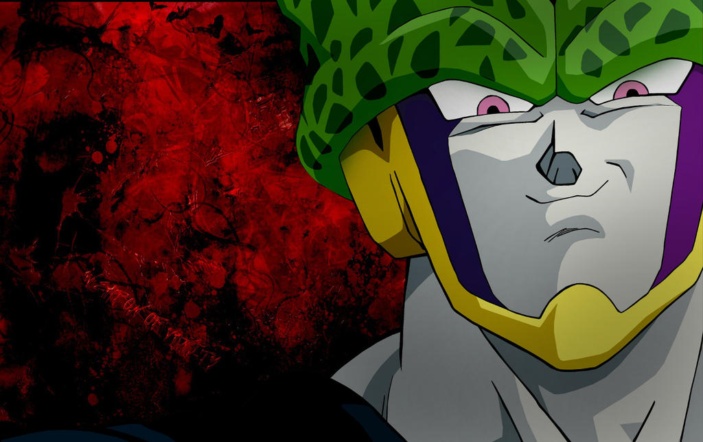gallery for dbz cell wallpaper