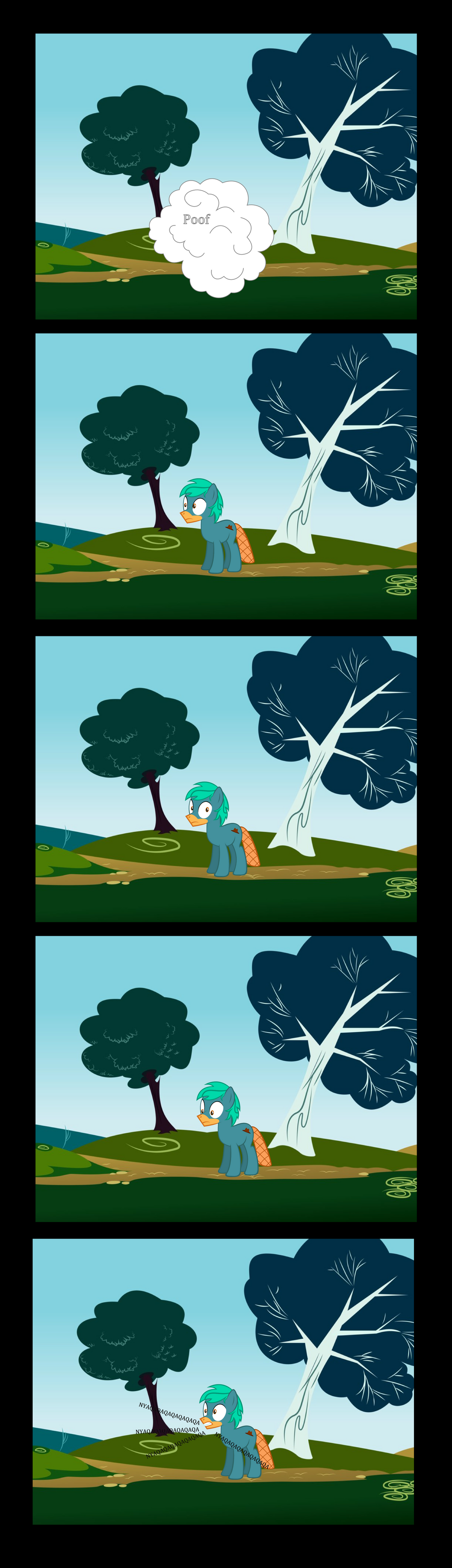 Perry the Ponypus Comic by Gray-Gold