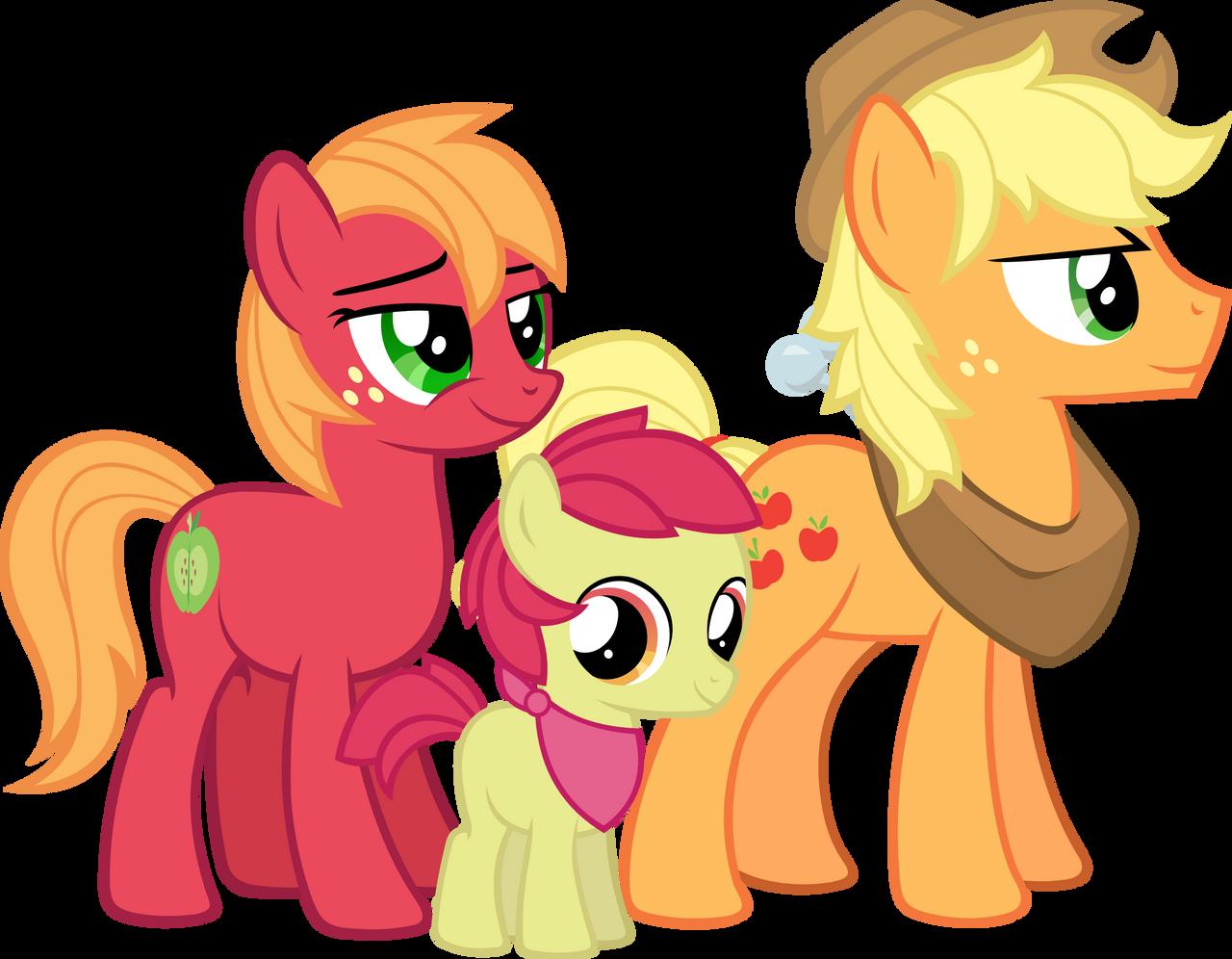 Apple Family My Little Pony Appleja...