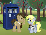 Doctor Whooves and Derpy Hooves