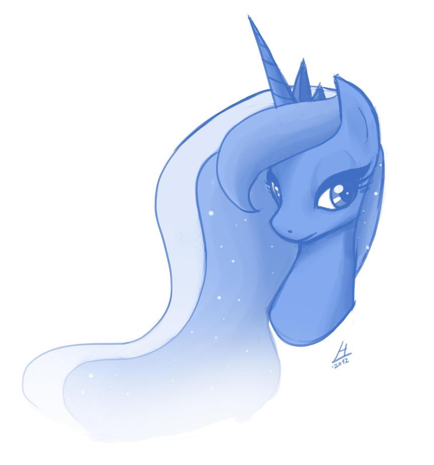 Luna - quick sketch by theinkBot