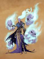 Otherworldly Conjurer by theinkBot