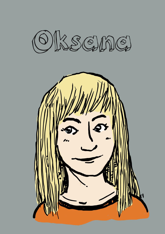 Oksana by kreska