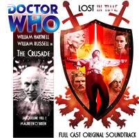 Doctor Who Big Finish Custom Cover The Crusade by spanishyoda
