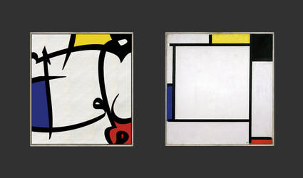 Conversation with Mondrian by majix1